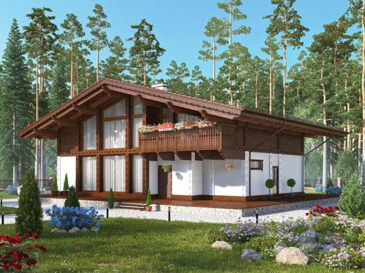 Проект Chalet Alpine 03