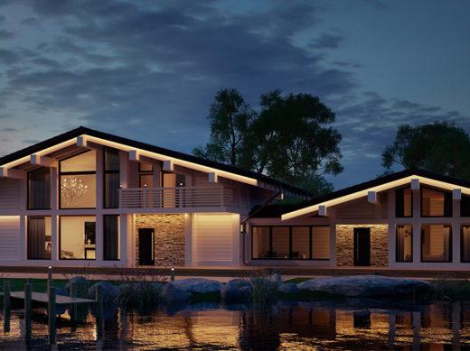 Проект Сhalet + Sauna